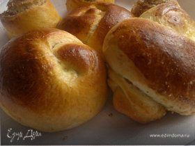 Сладкие булочки на завтрак