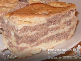 Заварной торт с кремом из взбитых мозгов «Флер»