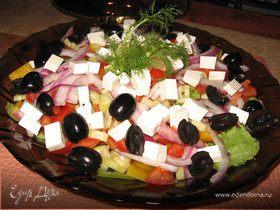 Мой фирменный греческий салат.