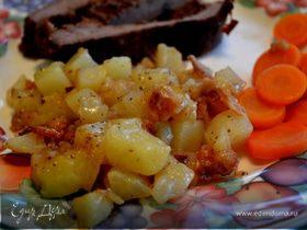 Горячий немецкий картофельный салат