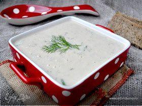 Сливочный суп-пюре из горбуши.