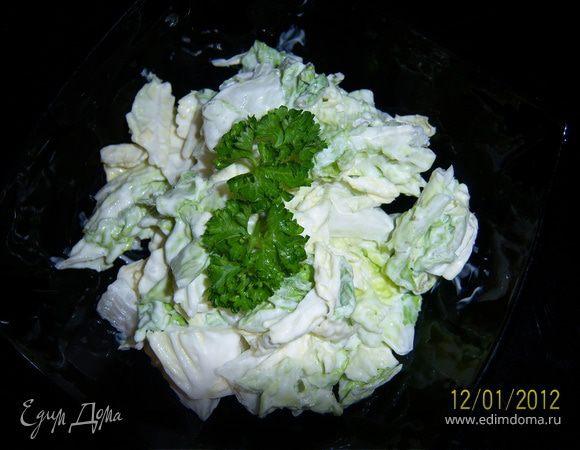 Салат к любому мясному блюду.