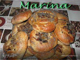 Плацалах-булочки с луком и маком