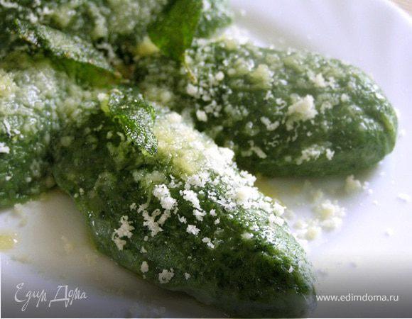Странгола прети по-трентински со шпинатом