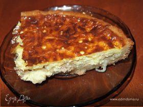 Луковый пирог.