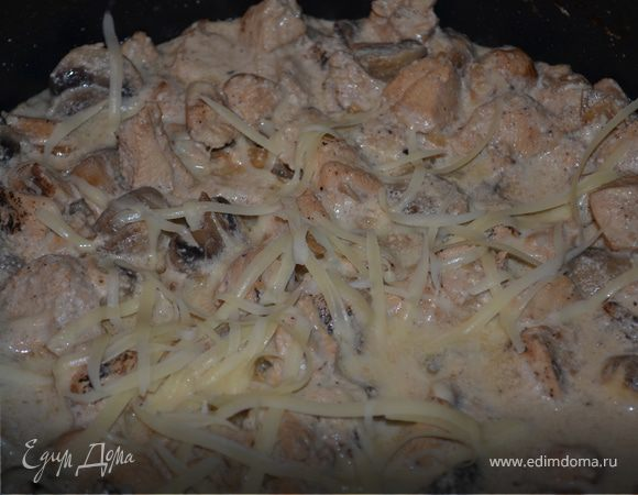 Куриная паста Кармелы (Carmela's Chicken Rigatoni)