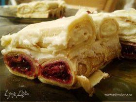"""Блинчатый тортик """"К 23 февраля для любимого"""""""