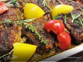 Куриные бедра под соусом Пири-пири