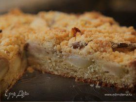 Пирог с грушами и имбирем