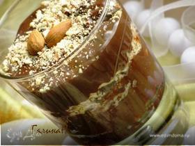 Шоколадный мусс с миндальным пралине. Рецепт из журнала ХлебСоль