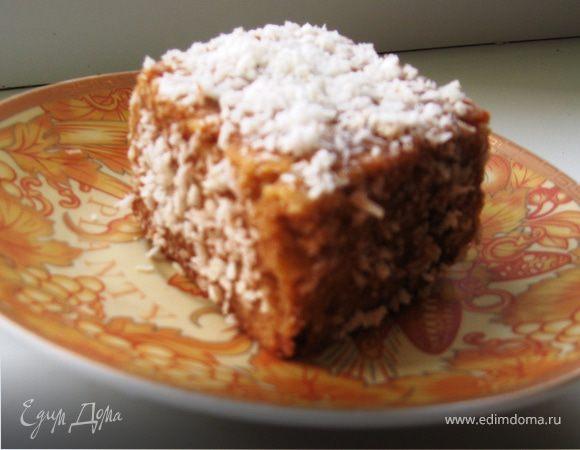 Австралийские «Лемингтоны» с «Victoria Sponge cake»