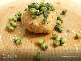 Рисовые зразы со шпинатным секретом