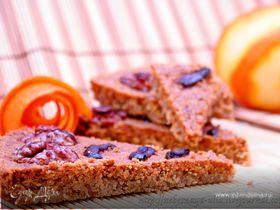 Ароматный апельсиново-ореховый шортбред
