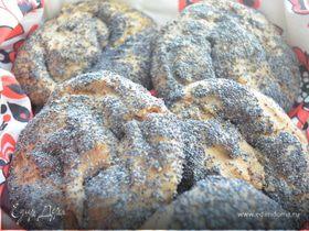 Ржаные хлебцы в маке