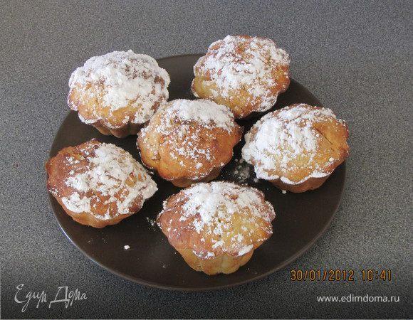 Овсянно-яблочные кексы