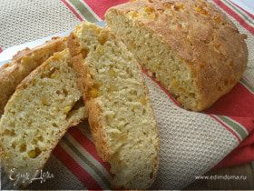 Кукурузный хлеб с зернами
