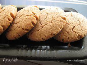 Шоколадно-миндальные печеньки с тхиной