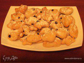 Печенье из сметанного теста