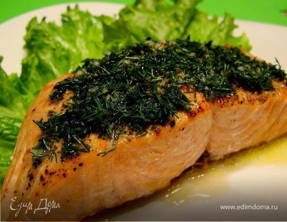 Укропный соус для рыбы
