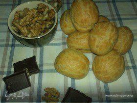 Необыкновенные эклеры для Ольги♥Ч с орехово-бейлисовым кремом