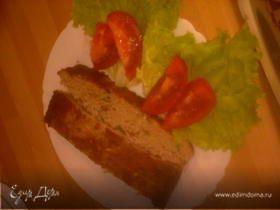 Мясная запеканка из трёх видов мяса