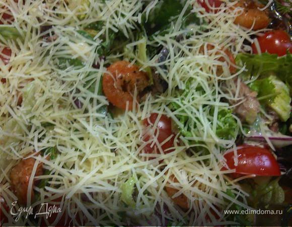 Очередной салат с тунцом