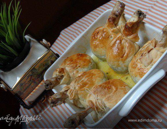 Лукошки с курицей
