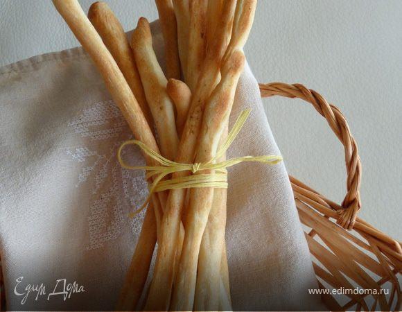 "Хлебные палочки или ""Grissini"""