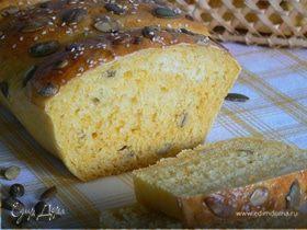 Тыквенный хлеб с тыквенными семечками