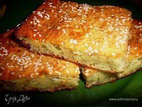 Сырно-творожный пирог