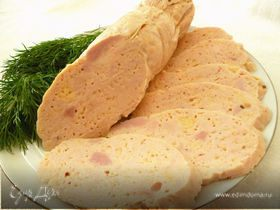 Вареная куриная колбаска(вариант №2)