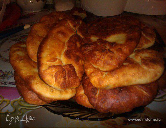 Дрожжевые жареные пирожки