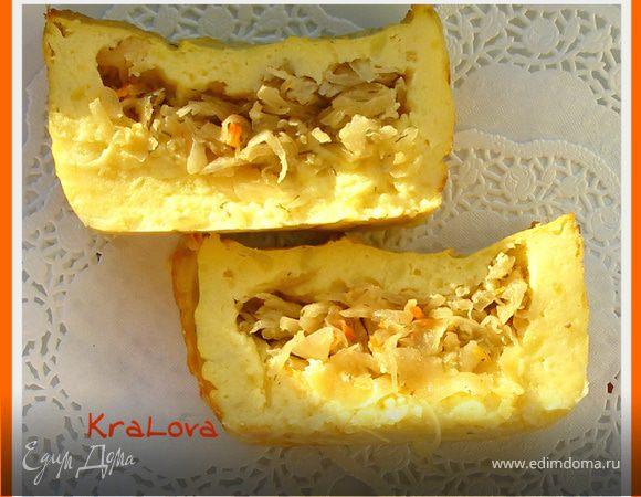 Запеканка картофельно-капустная