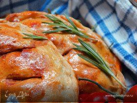 Пицца c грибами и пармезаном (Calzonelli)