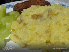 Картофельное пюре с твердым сыром
