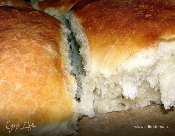 Домашний, белый хлеб