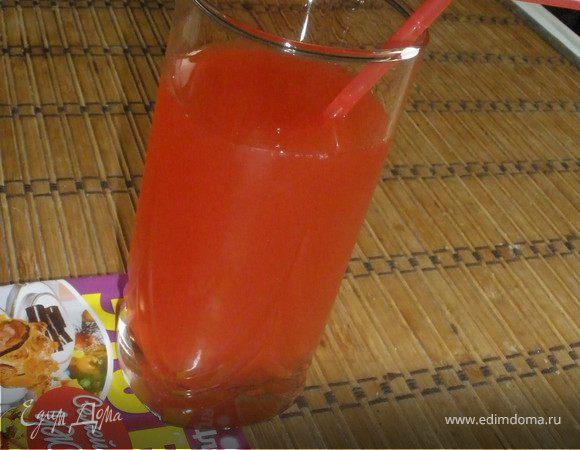Клубничный напиток