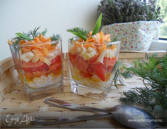 Веррин с рисом и овощами