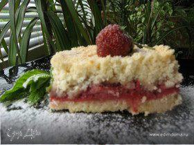 Просто..... клубничный пирог
