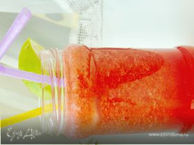Освежающий лимонад (Клубника+огурец+лайм)