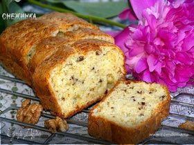 Сырно-ореховый хлеб с горчицей