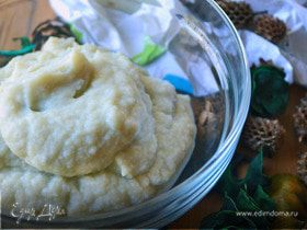Пюре из цветной капусты с сыром Рокфор
