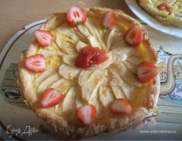 Яблочный пирог для бабуси