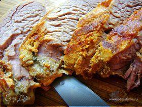 Свиная филейка тушеная в молоке (рецепт для мультиварки)