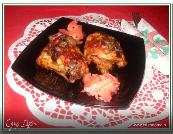 Курица в сладкой газировке