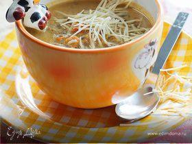 Супчик из моркови и чечевицы
