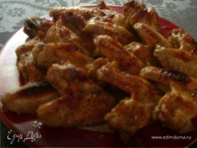 Куриные крылышки в медовом соусе