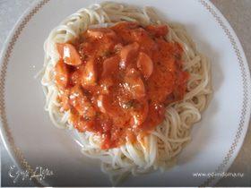 """Спагетти """"На скорую руку"""""""