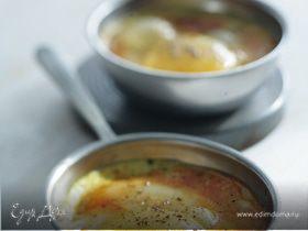 Яйца кокот по-индийски