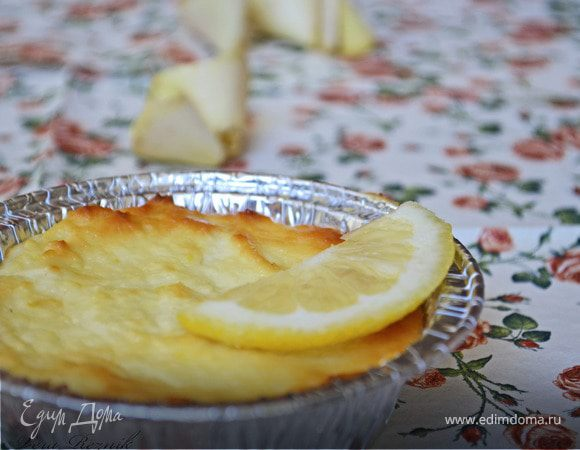 Лимонные мини-чизкейки